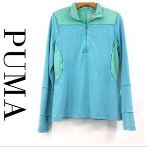 💕SALE💕 Puma Blue Green Track Jacket